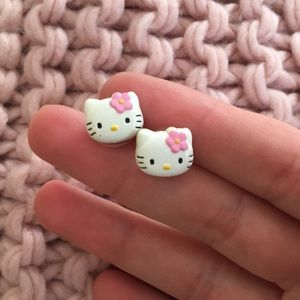 Vintage Hello Kitty Earrings